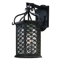 "Los Olivos Collection 15 1/4"" High Outdoor Wall Light"
