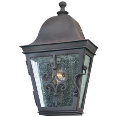 "Markham Collection 13 3/4"" High Outdoor Wall Light"