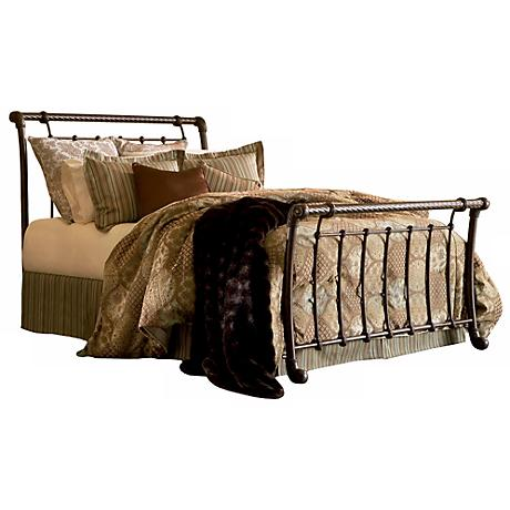 Legion Metal Sleigh Bed
