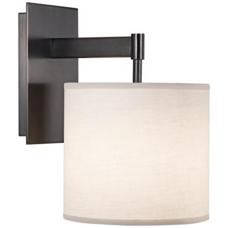 Robert Abbey Echo Bronze Plug-In Wall Sconce