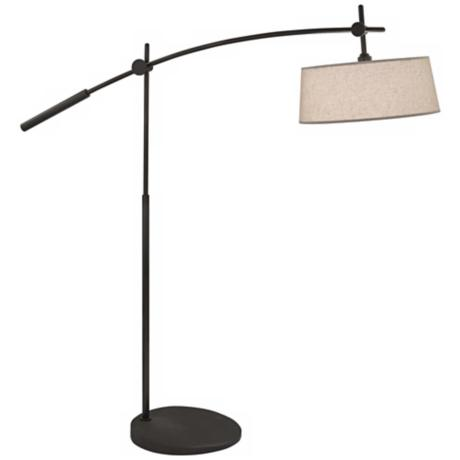Rico Espinet Miles 2-Light Boom Patina Bronze Floor Lamp