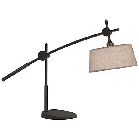 Robert Abbey Boom Deep Patina Bronze Table Lamp