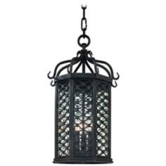 "Los Olivos Collection 20"" High Outdoor Hanging Light"