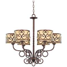 "Savoy House San Simeon 28"" Wide Chandelier"