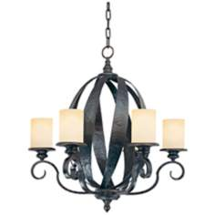 "Savoy House Carmel 25 1/4"" Wide Chandelier"
