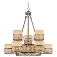 "Savoy House Champaign 12-Light 35"" Wide Large Chandelier"