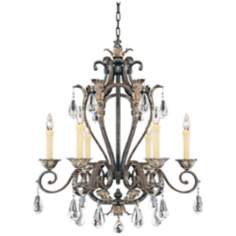 "Savoy House Hensley 28"" Wide Chandelier"