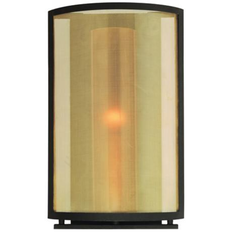 "Chinois Collection 14"" High ADA Compliant Wall Sconce"
