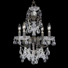 "Crystorama Legacy Collection 17"" Wide Mini Chandelier"