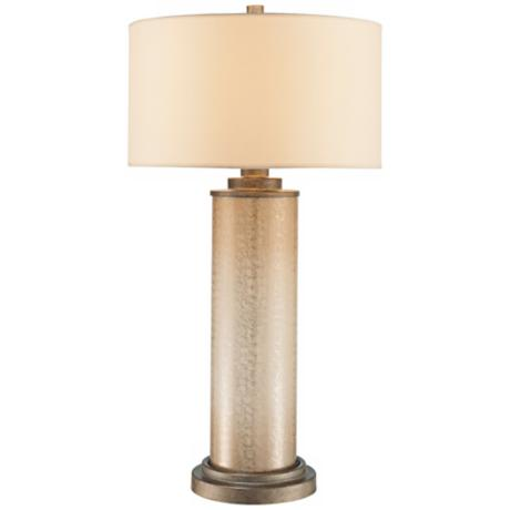 Ambience Clarte Iron Patina ColumnTable Lamp