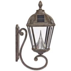 "Royal Solar LED Bronze 21"" High Outdoor Wall Light"