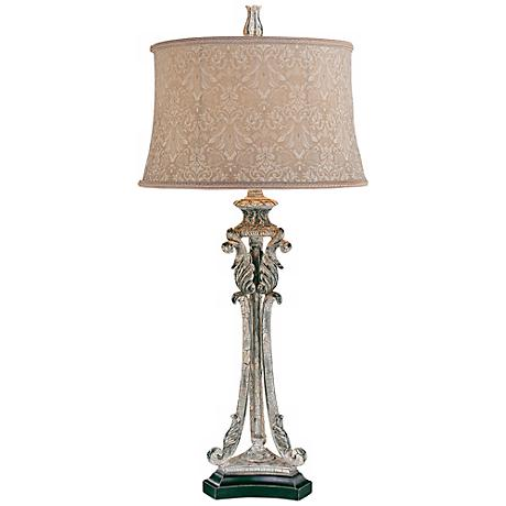 Jessica McClintock Romance Champagne Gold Buffet Table Lamp