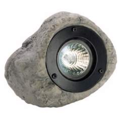 Rock Grey Finish Outdoor Spotlight