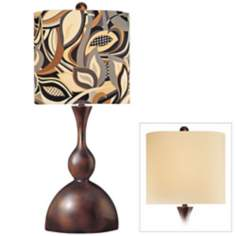Ambience Collection Double Shade Table Lamp