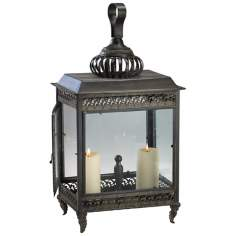 Two Candle Classic Woodburning Stove Lantern