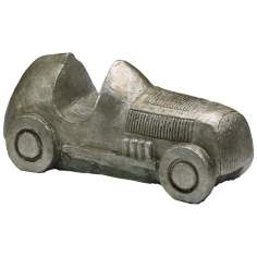 Pewter Finish Collectible Large Classic Automobile Token