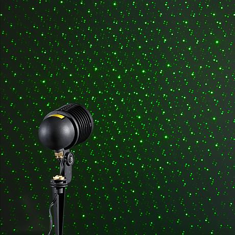 BlissLights Spright Green Laser Starfield Landscape Light