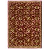Riverwoods Collection Wind Carpet Red Area Rug