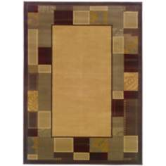 Riverwoods Collection Geometric Area Rug