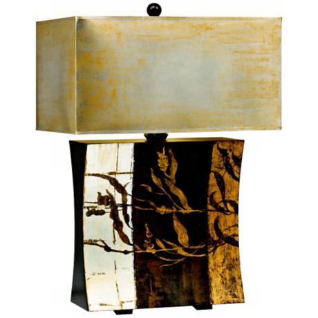 Kichler Vivido Breeze Table Lamp With Hand-Painted Shade
