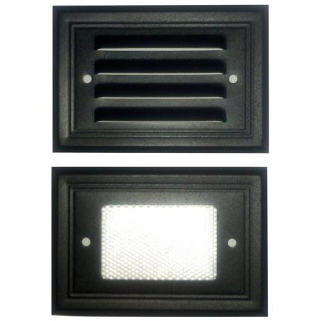 Black Finish 7-Watt Outdoor Deck Light