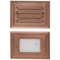 Copper Finish 7-Watt Outdoor Deck Light