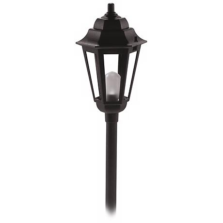 Savannah Black Finish Outdoor Landscape Path Light