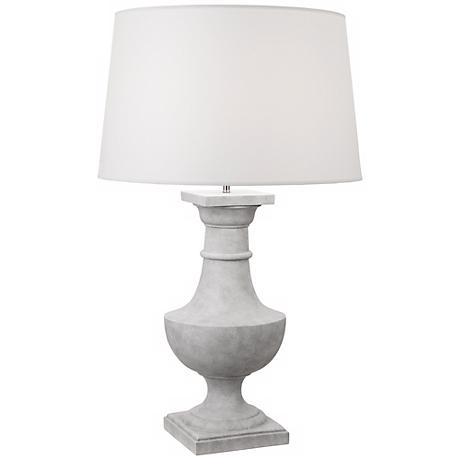 Robert Abbey Bronte Faux Concrete Table Lamp