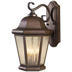 "Murray Feiss Martinsville 17"" High Outdoor Wall Lantern"