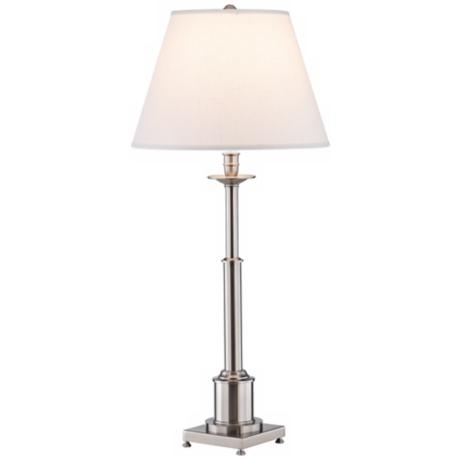 Robert Abbey Kinetic Chrome Square Base Table Lamp