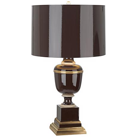 Mary McDonald Annika Chocolate and Natural Brass Table Lamp
