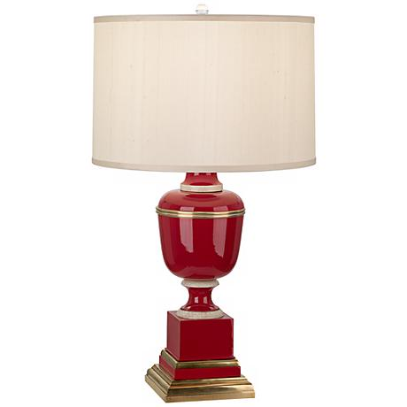 Mary McDonald Annika Red Cloud Cream Shade Table Lamp