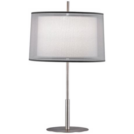 "Robert Abbey Saturnia Steel 30"" High Table Lamp"