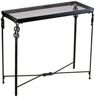 "Rustic Iron 36 1/4"" Wide Dupont Console Table (R1425) R1425"