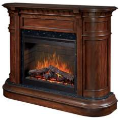 Dimplex Carlyle Walnut Electric Fireplace