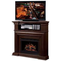 Dimplex Montgomery Electric Fireplace and Television Stand