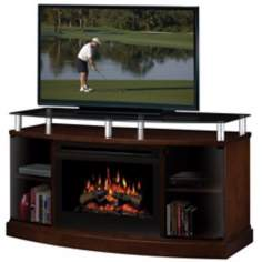 Dimplex Windham Electric Fireplace and Television Console