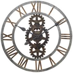 "Howard Miller Crosby 30"" Wide Wall Clock"