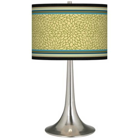 Stacy Garcia Kiwi Tini Florence Giclee Trumpet Table Lamp