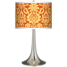 Stacy Garcia Harvest Florence Giclee Trumpet Table Lamp