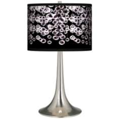 Shimmer Giclee Trumpet Table Lamp
