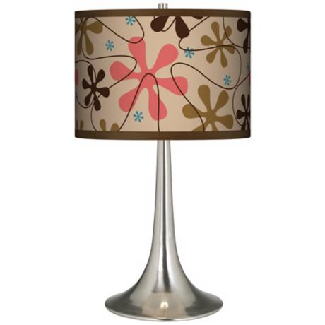 Retro Giclee Trumpet Table Lamp
