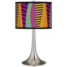 Mambo Giclee Trumpet Table Lamp