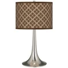 Grevena Giclee Trumpet Table Lamp