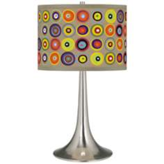 Marbles in the Park Giclee Trumpet Table Lamp
