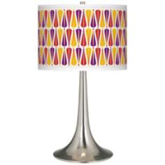Hinder Giclee Trumpet Table Lamp