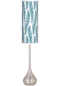 Stacy Garcia Fancy Fern Peacock Teardrop Torchiere Floor Lamp