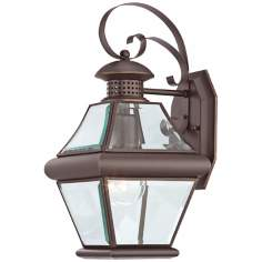 "Quoizel Rutledge Bronze 15"" High Outdoor Wall Light"