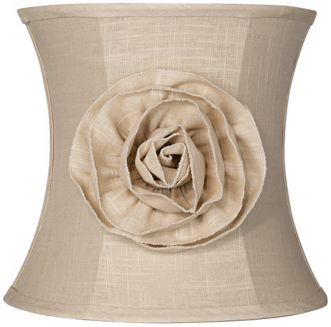Linen Lamp Shade Photo