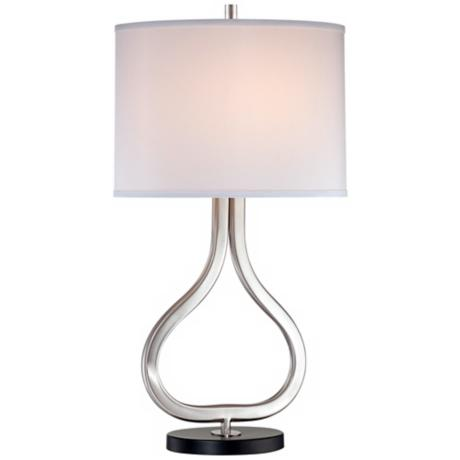 Possini Euro Design Open Droplet Table Lamp